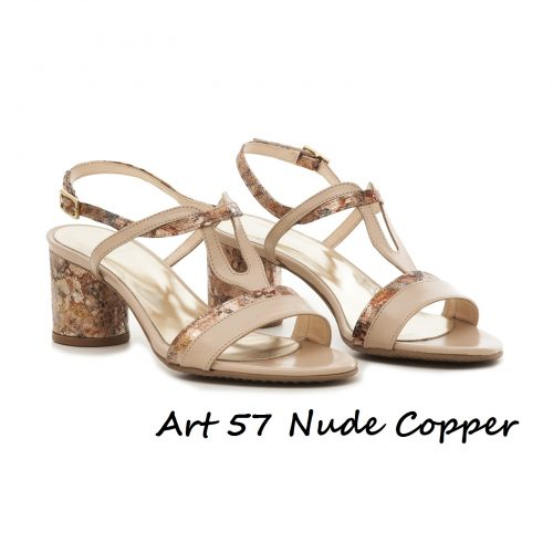 Shoes Art 57 Nude Copper