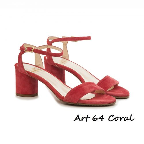 Shoes Art 64 Coral