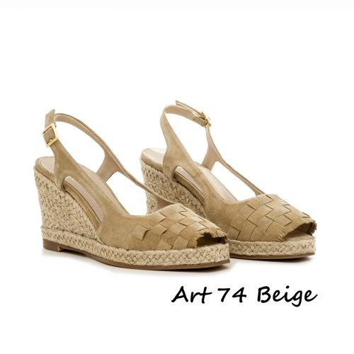 Shoes Art 74 Beige