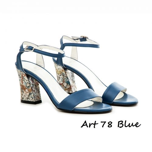 Shoes Art 78 Blue