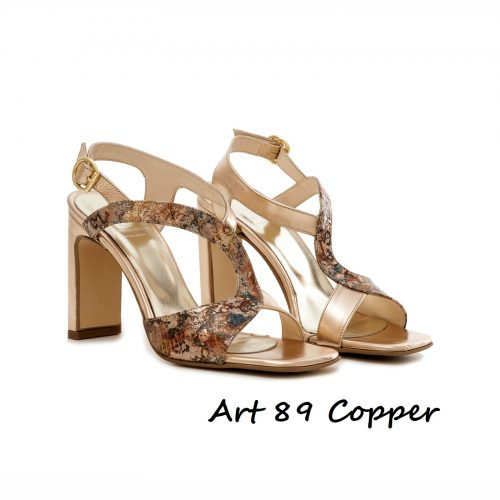 Shoes Art 89 Copper