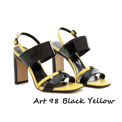 Shoes Art 98 Black Yellow