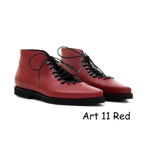 Women Shoes Art 11 Red