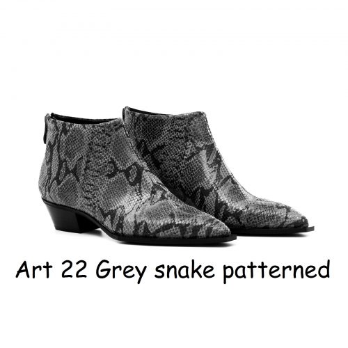 Women Shoes Art 22 Grey