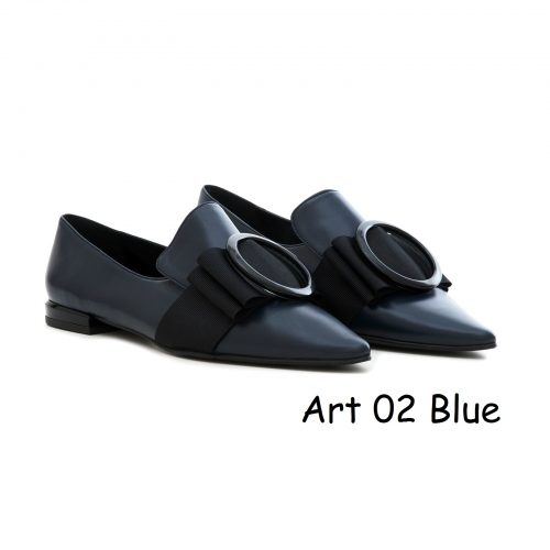Women Shoes Art 02 Blue