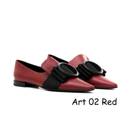 Women Shoes Art 02 Red