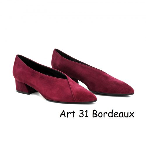 Women Shoes Art 31 Bordeaux