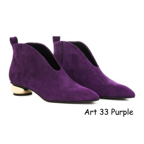 Women Shoes Art 33 Purple