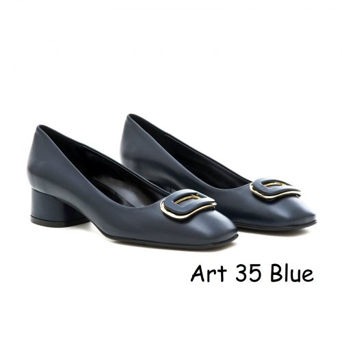 Women Shoes Art 35 Blue