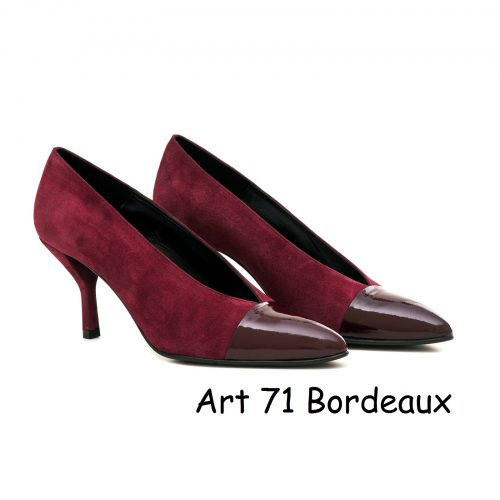 Women Shoes Art 71 Bordeaux