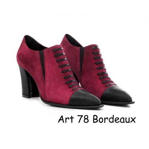 Women Shoes Art 78 Bordeaux