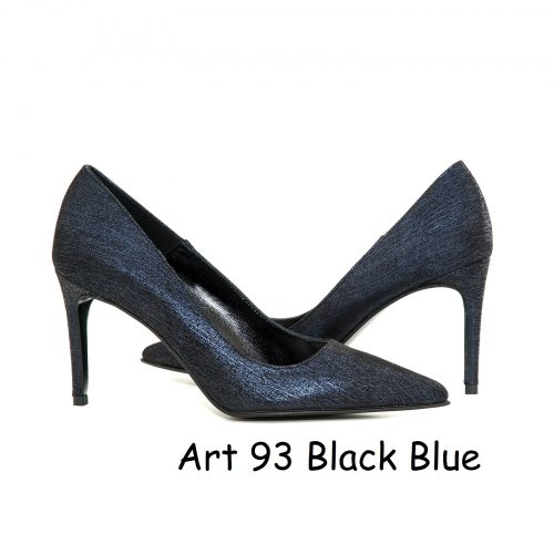 Women Shoes Art 93 Black Blue