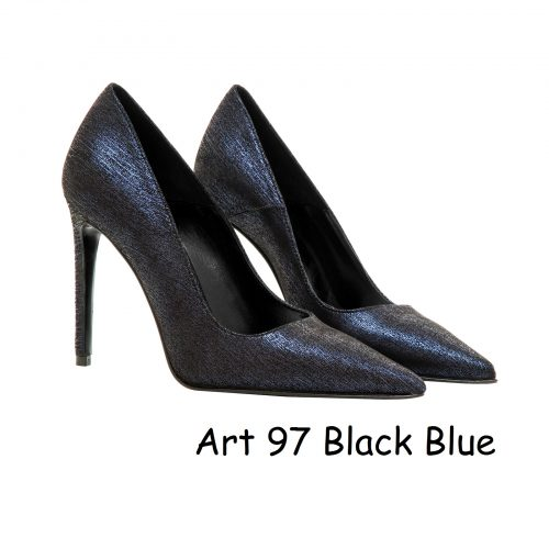 Women Shoes Art 97 Black Blue