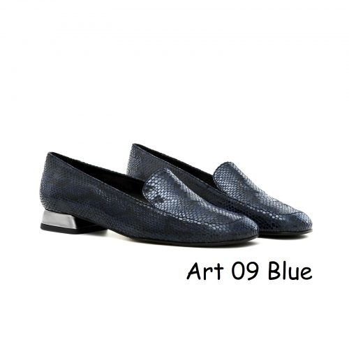 Women Shoes Art 09 Blue