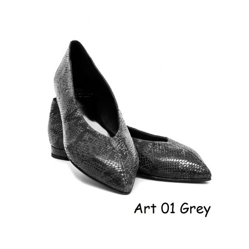 Women Shoes Art 01 Grey