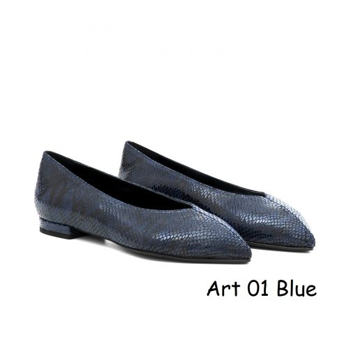 Women Shoes Art 01 Blue