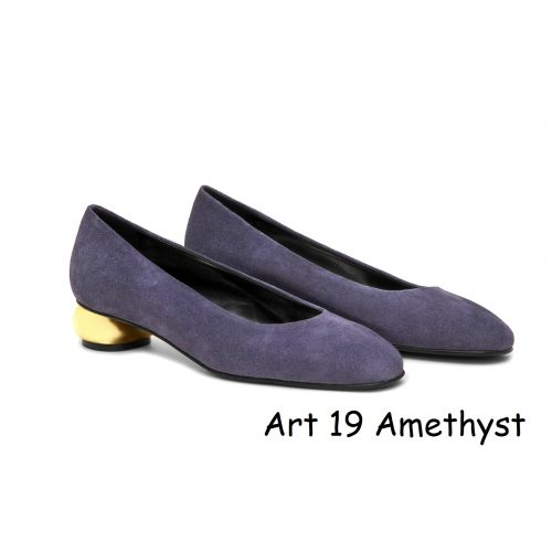 Women Shoes Art 19 Amethyst