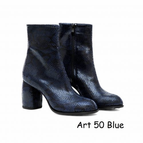 Women Shoes Art 50 Blue