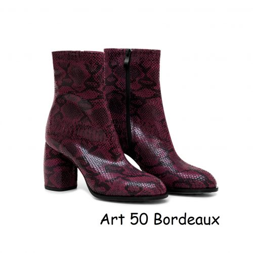 Women Shoes Art 50 Bordeaux