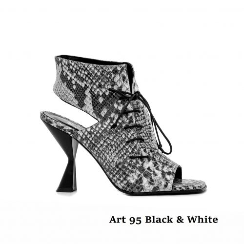 Shoes Art 95 Black & White