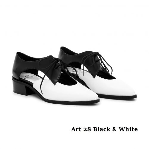 Women Shoes Art 28 BnW