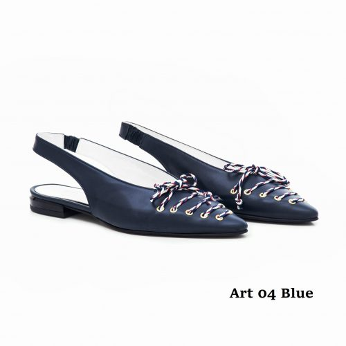 Women Shoes Art 04 Blue