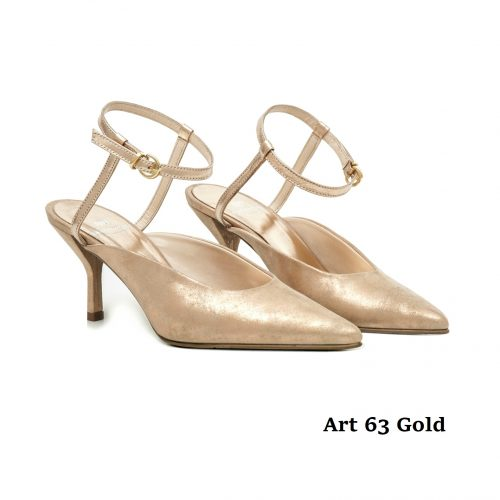 Women Shoes Art 63 Gold
