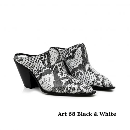 Women Shoes Art 68 Black & White