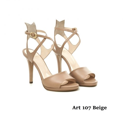 Women Shoes Art 107 Beige