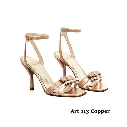 Women Shoes Art 113 Copper