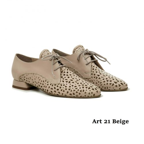 Women Shoes Art 21 Beige