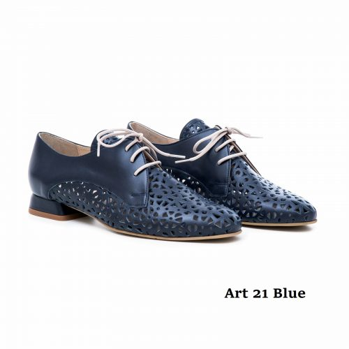 Women Shoes Art 21 Blue