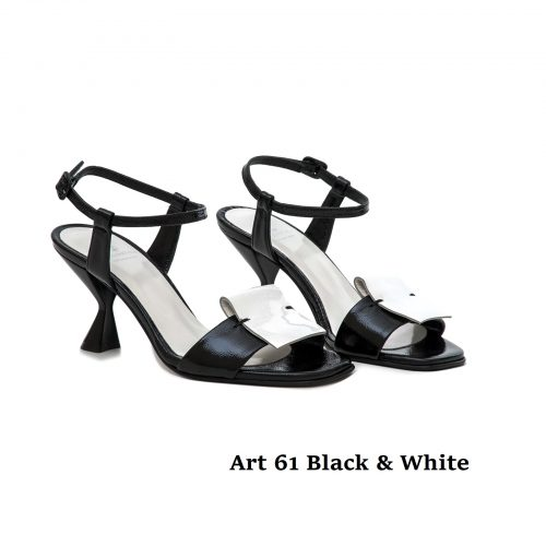 Women Shoes Art 61 Black & White