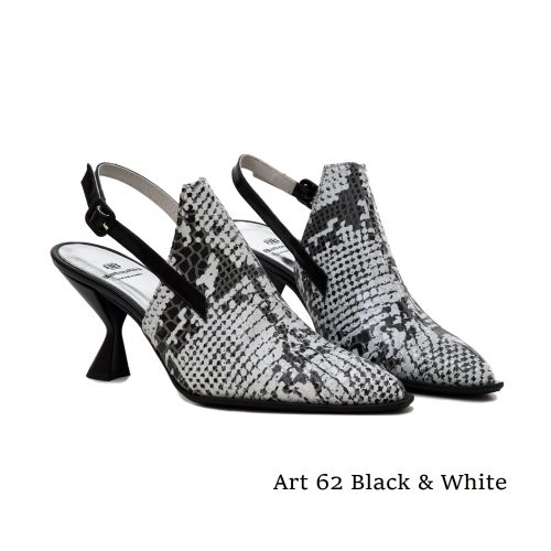 Women Shoes Art 62 Black & White