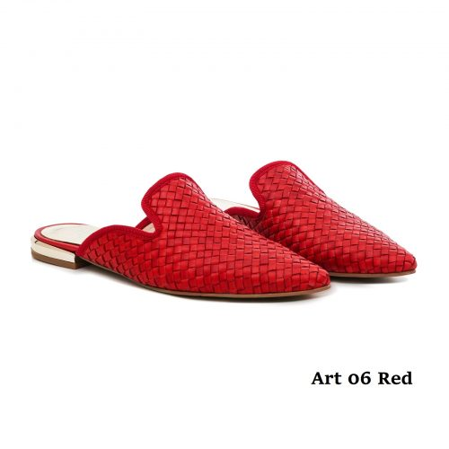 Women Shoes Art 06 Red