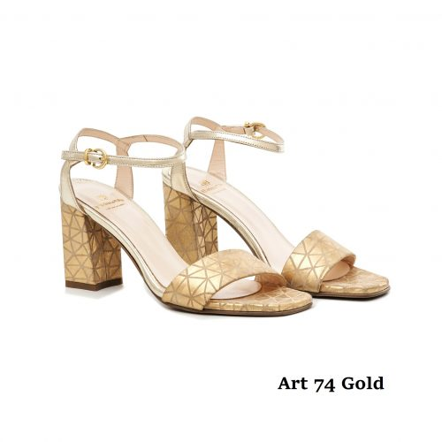 Shoes Art 74 Gold