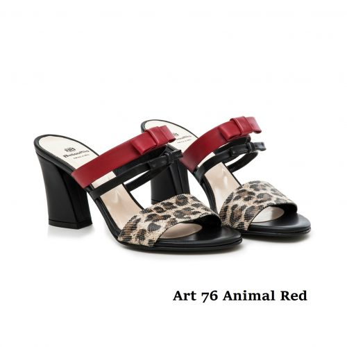 Shoes Art 76 Animal Red