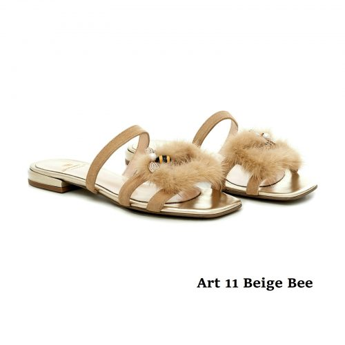 Women Shoes Art 11 Beige Bee