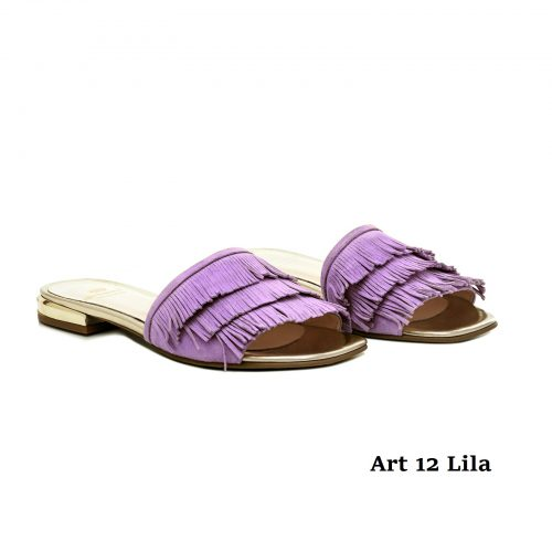 Women Shoes Art 12 Lila