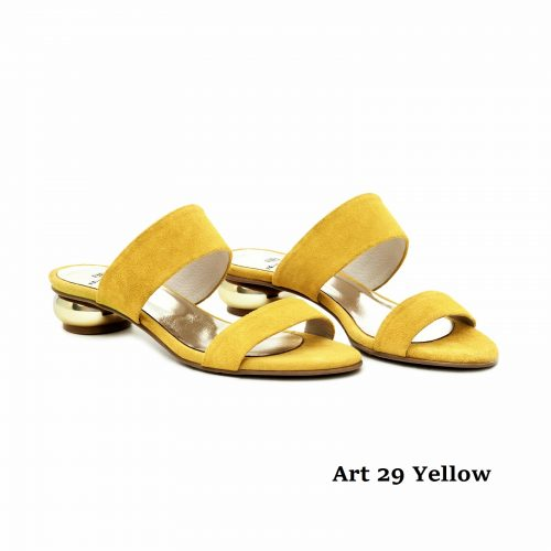 Women Shoes 29 Yellow