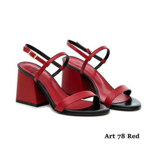 Women Shoes Art 78 Red