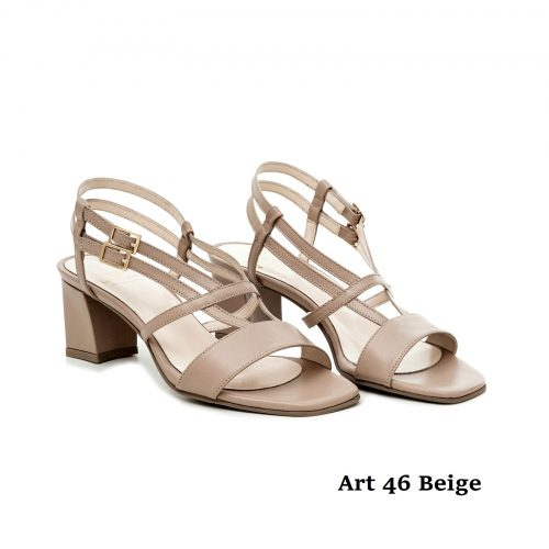 Women Shoes 46 Beige