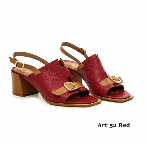 Women Shoes Art 52 Red