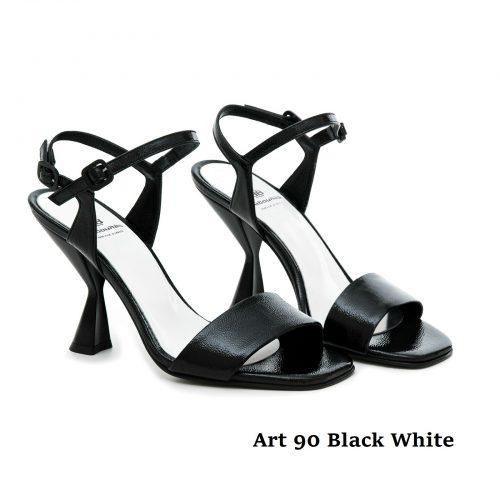 Women Shoes Art 90 Black White