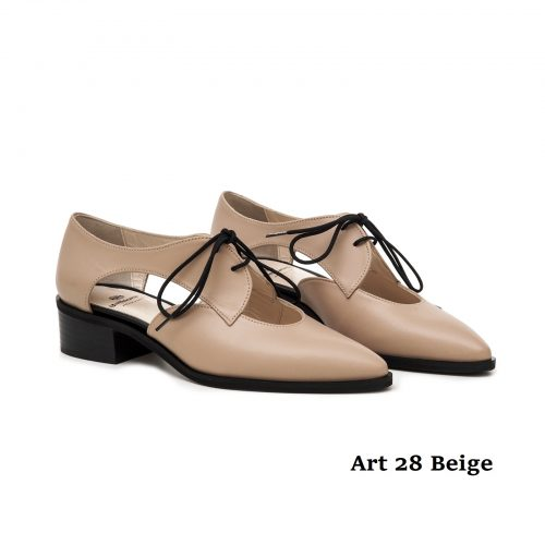 Women Shoews Art 28 Beige