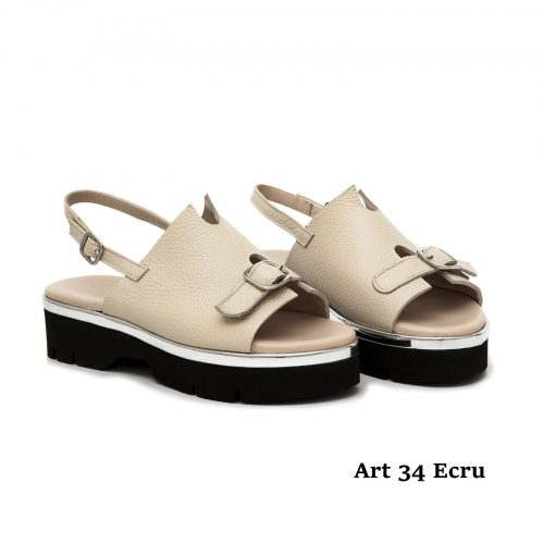 Women Shoews Art 34 Ecru