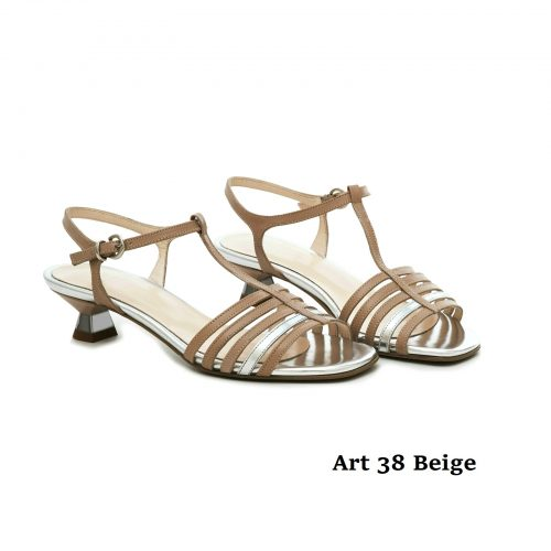 Women Shoes Art 38 Beige