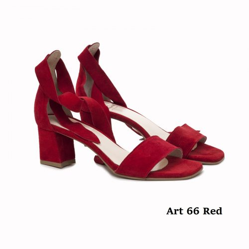 Women Shoes Art 66 Red