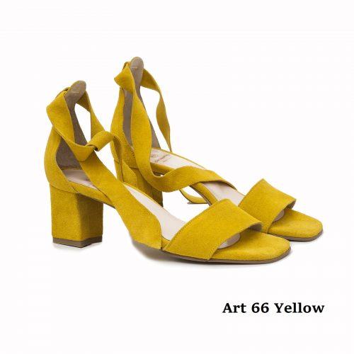 Women Shoes Art 66 Yellow