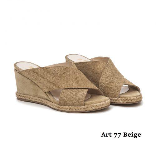 Women Shoews Art 77 Beige